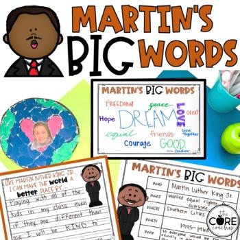 Martin Luther King Jr. Interactive Read-Aloud Activities: Martin's Big Words