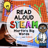 Martin's Big Words Read Aloud Black History Month STEAM Activity