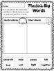 Martin's Big Words Reader Response CCSS Aligned  January Black History Sub Plans