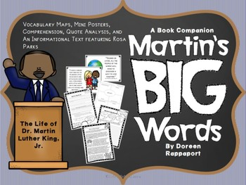 Martin's Big Words: The Life of Dr. Martin Luther King, Jr. - A Book Companion