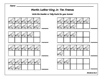 Martin Luther King Jr. Math Pack