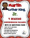 Martin Luther King Activities - Reading Comprehension