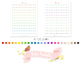 Martini Cocktail Glass Printable Planner Stickers