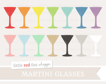 Martini Glass Clipart; Cocktail, Drink, Bar