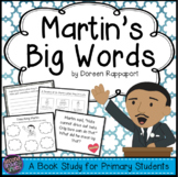 Martin Luther King Jr. Biography Study (Martin's Big Words)