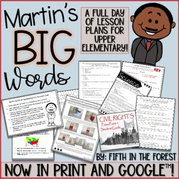 Martins Big Words FULL Day of Lesson Plans