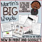 Martins Big Words FULL Day of Lesson Plans for Distance Learning