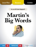 Martin's Big Words Lesson Plans & Activities Package, Second Grade (CCSS)