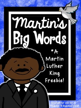 Martin's Big Words- Martin Luther King Jr. *Freebie!