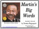 Martin's Big Words -  Martin Luther King's Wise Words PowerPoint-Plus Bundle