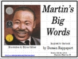 Martin's Big Words -  Martin Luther King's Wise Words (PowerPoint and Resources)