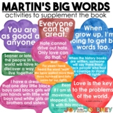 Martin's Big Words Poster Packet