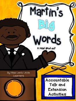"""Martin's Big Words"" Read Aloud Unit"