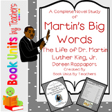 Martin's Big Words: The Life of Dr Martin Luther King, Jr Book Unit