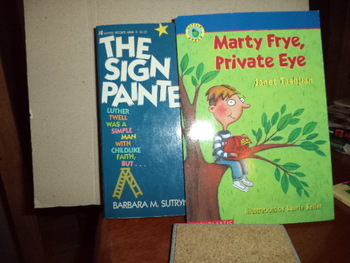Marty Frye,Private Eye  The SIGN PAINTER  (set of 2)