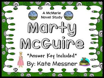 Marty McGuire (Kate Messner) Novel Study / Comprehension (26 pages)