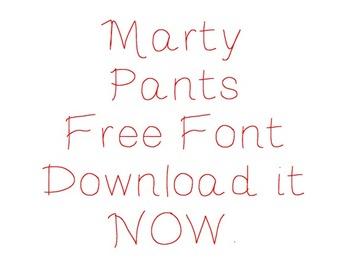 Marty Pants Font