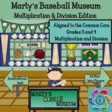 Interactive Math Games (Multiplication and Division) Bundle- Google Slides/PDF