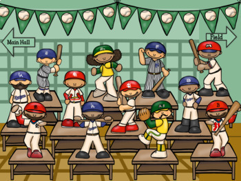 Marty's Baseball Museum- Interactive Subtraction Game
