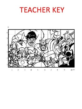 Marvel Avengers Image Scramble #2 - Busy / Sub Work