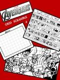 Marvel Avengers Image Scramble #2 - Busy / Sub Work