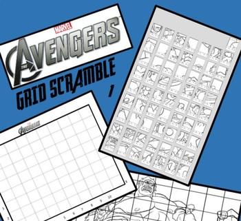 Marvel Avengers Image Scramble #s 1-3 Mini Bundle - Busy / Sub Work