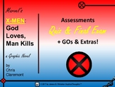 "Marvel Comics X-Men ""God Loves, Man Kills"" Assessment & Quiz"