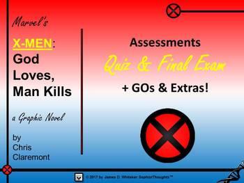 "Marvel Comics X-Men ""God Loves, Man Kills"" Complete Unit Bundle"