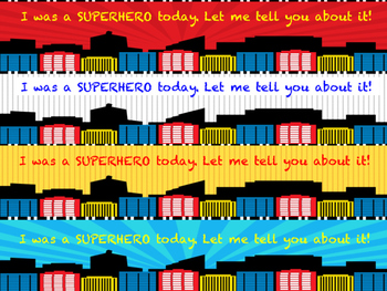Marvel Superhero Behavior Calendars 2016-2017 School Year