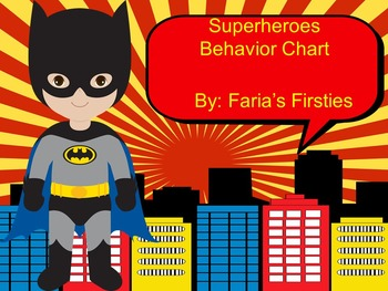 Marvel Superhero Behavior Calendars 2016-2017 and Chart { Bundle }