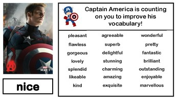 Marvel Synonym Posters