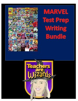 Marvel Writing Bundle: Edit/Revise & Expository Prompt