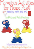 Marvelous Activities for Mouse Paint {reading, math, and art}