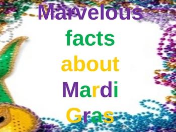 Marvelous Facts About Mardi Gras