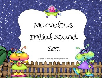 Marvelous Initial Sound Games