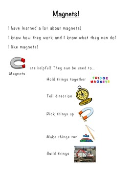 Marvelous Magnets Assessment- Perfect for Early Learners and Special Education!
