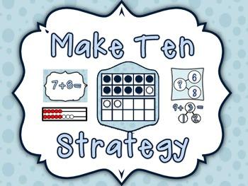 Marvelous Make Ten Additon Strategy Resources