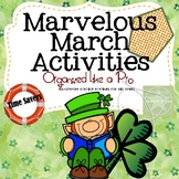 Marvelous March Activities