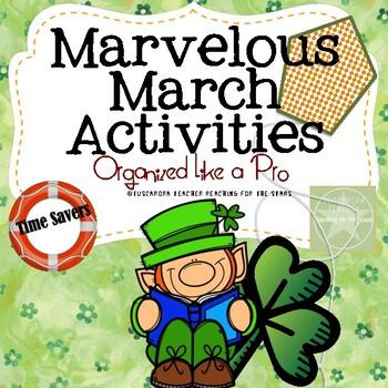 Marvelous March Activities