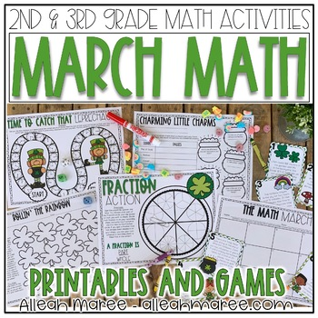 Marvelous March Mathematics: 2nd Grade Math Activities