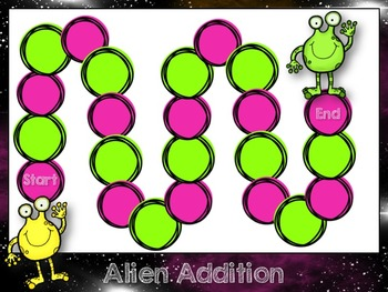 Marvelous Martian Math Games: Addition, Subtraction, Fractions and Place Value