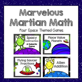 Marvelous Martian Math Games: Addition, Subtraction, Fract