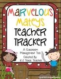 Marvelous Mateys Teacher Tracker: A Pirate Themed Classroom Management Tool