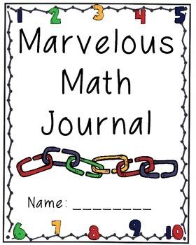 Marvelous Math Journal