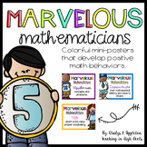 Marvelous Mathematicians {Mini-Posters that Develop Positive Math Behaviors}