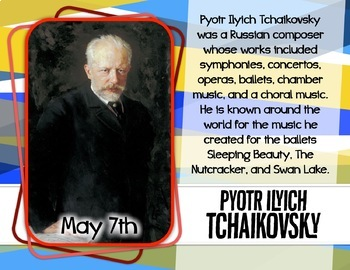 Marvelous May Musicians -- Music Bulletin Board Set
