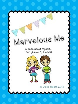 Marvelous Me - An All About Me writing book for the beginning of the year