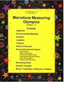 Marvelous Measuring Olympics