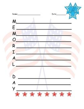 Marvelous Memorial Day Fun Pack! 10 AMAZING activities (Grades 3 or 4)