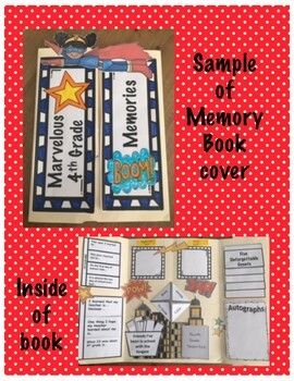 Marvelous Memory Book- Grades 2-5